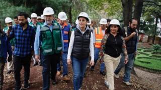 Supervisa Jefa de Gobierno obras de la rehabilitación y saneamiento en Canal Nacional