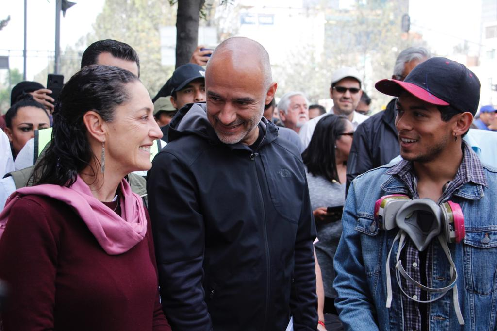 5e3f9077334bf669636935 - Gobierno de la Ciudad de México finaliza  rehabilitación y reforestación de Avenida Chapultepec