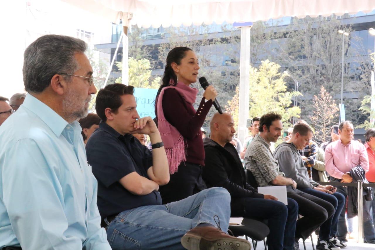 5e3f907b24bf1789282838 - Gobierno de la Ciudad de México finaliza  rehabilitación y reforestación de Avenida Chapultepec
