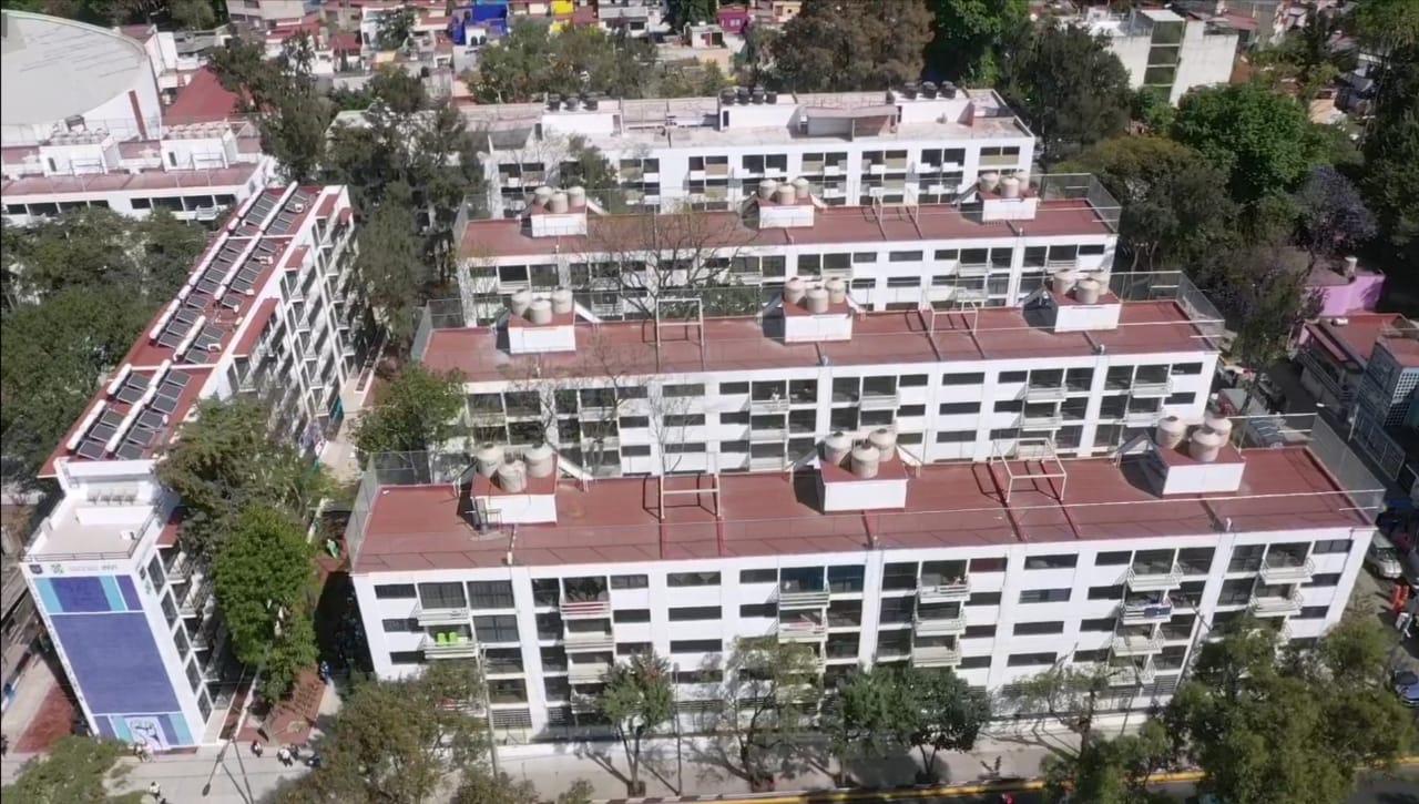 5e3f9166d0b83474238802 - Gobierno de la Ciudad de México entrega nueve edificios del Multifamiliar Tlalpan