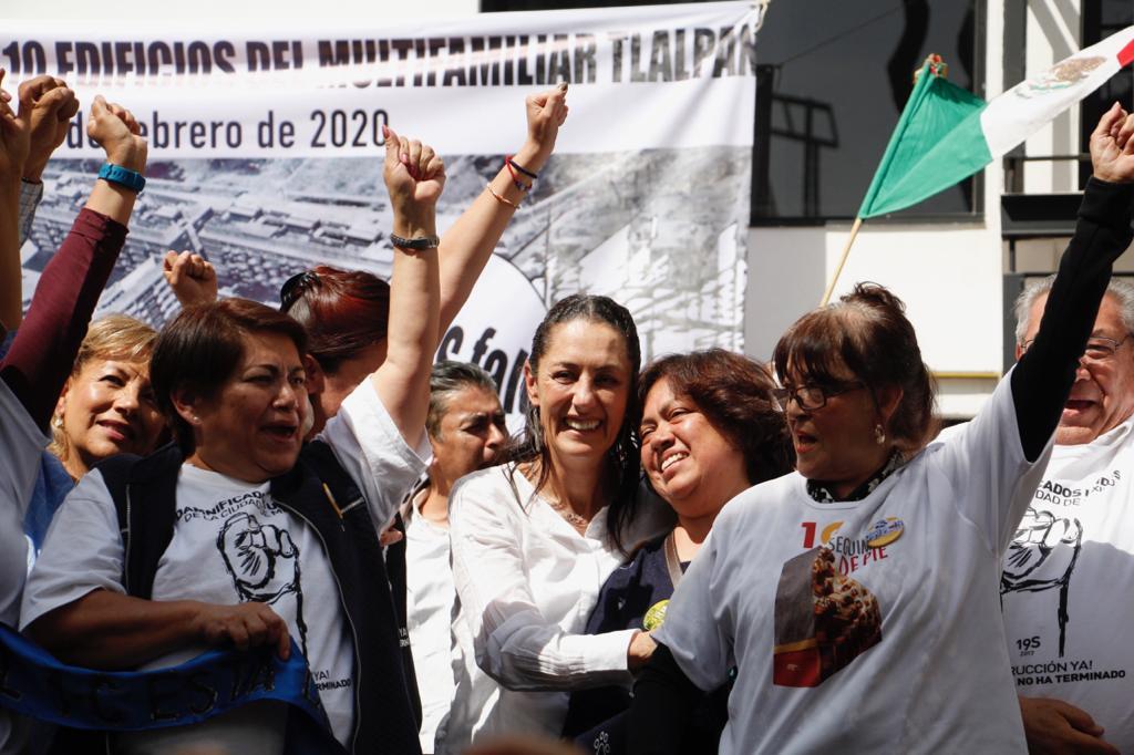 5e3f9174f2169732174153 - Gobierno de la Ciudad de México entrega nueve edificios del Multifamiliar Tlalpan