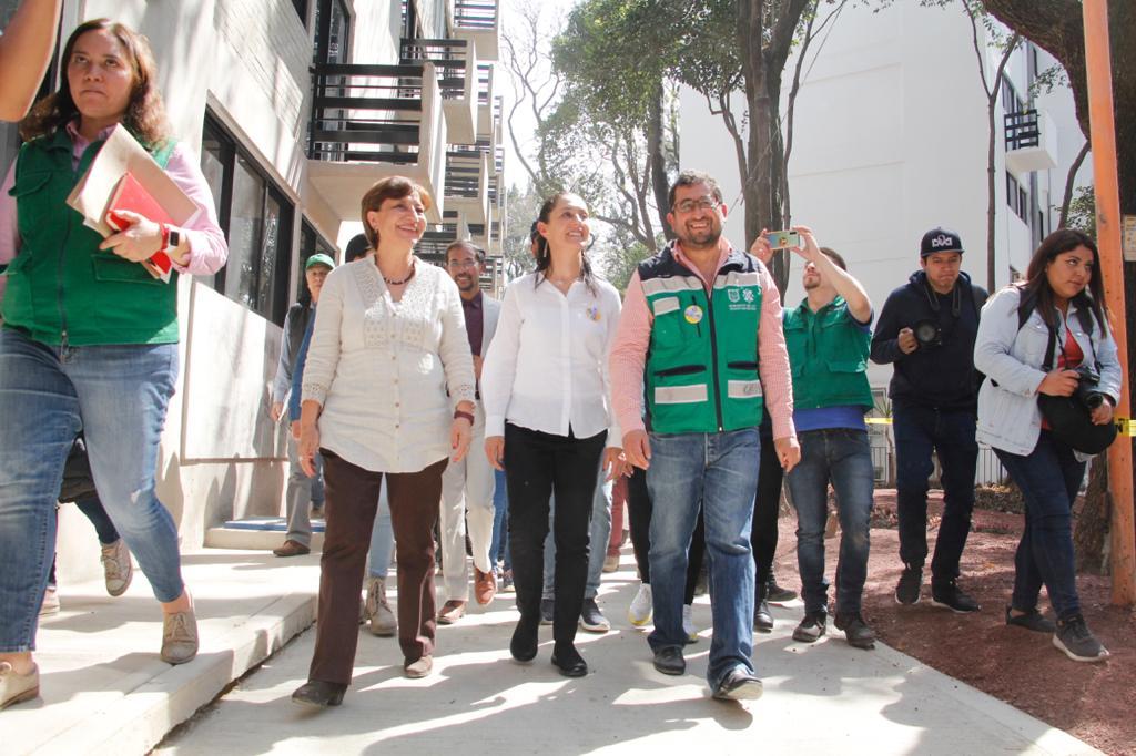 5e3f917a4358c466590158 - Gobierno de la Ciudad de México entrega nueve edificios del Multifamiliar Tlalpan