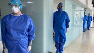 Supervisa Presidente de México y Jefa de Gobierno infraestructura hospitalaria Marina - INSABI en el Centro Médico Naval