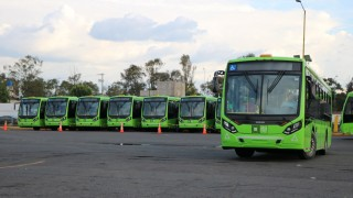 Invierte Gobierno capitalino este año 1,868.6 mdp en 130 unidades de Trolebús y 97 autobuses de RTP