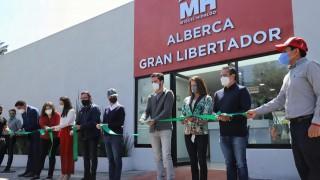 """Encabeza Jefa de Gobierno inauguración de la alberca """"Gran Libertador"""" en la alcaldía Miguel Hidalgo"""